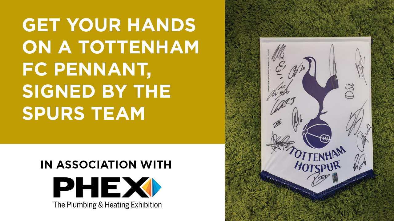 Get your hands on a Tottenham FC pennant, signed by the team image